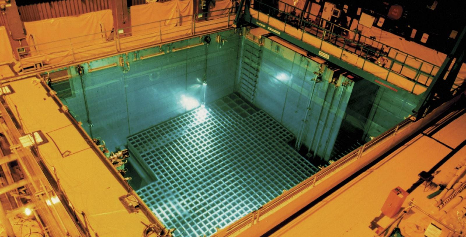 impact calculation against irradiated fuel racks olkiluoto npp