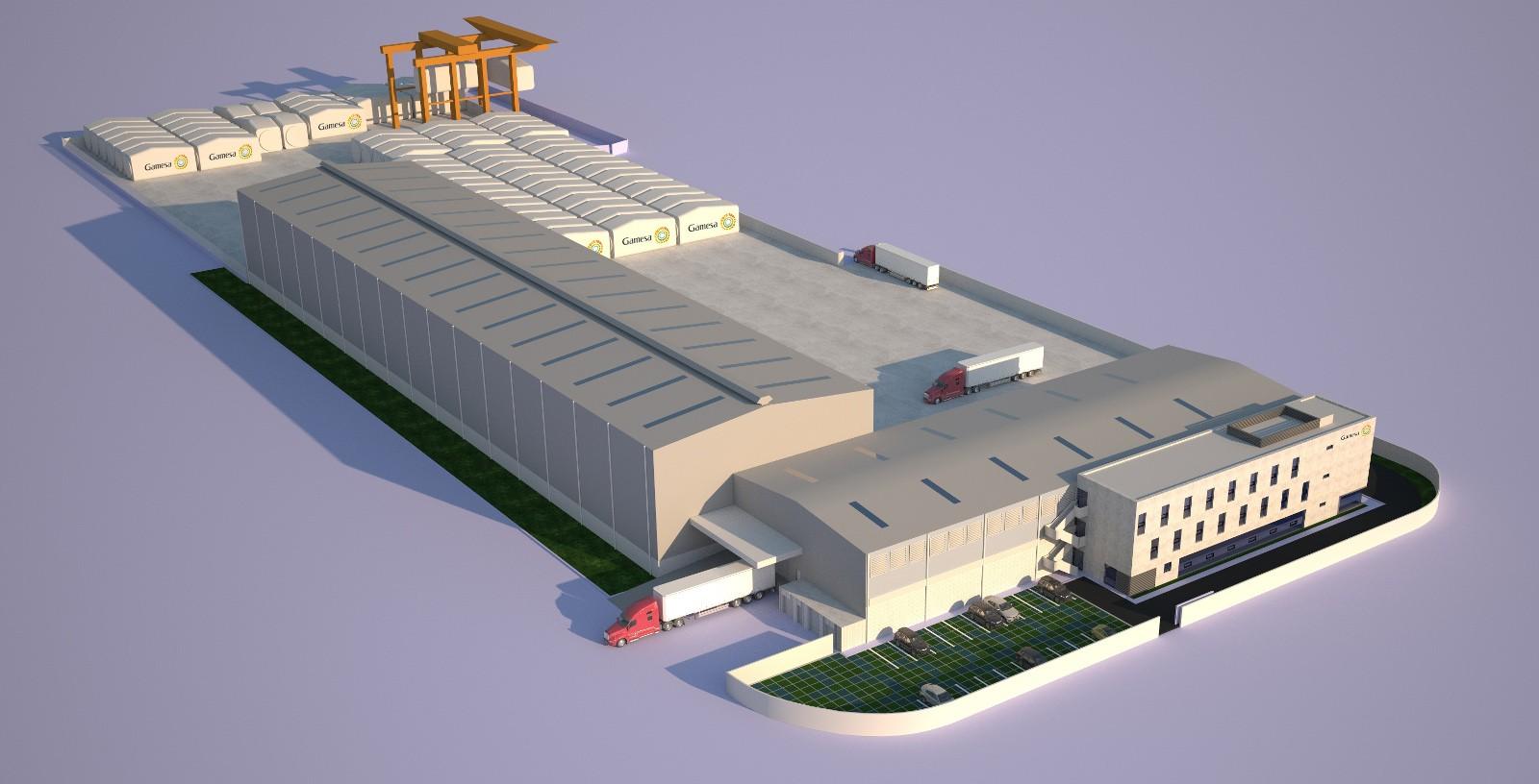 GAMESA_Wind_turbine_manufacturing_plant_Brazil_Idom_1