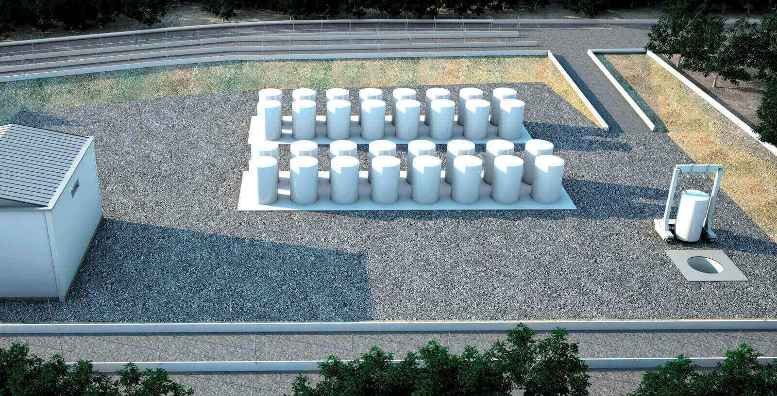 Idom_Nuclear_Services_NUCLENOR_Individual_Spent_Fuel_Storage_Installation_ISFSI_Santa_Mar_a_de_Garo_a_nuclear_power_plant_I_igo_Gutierrez