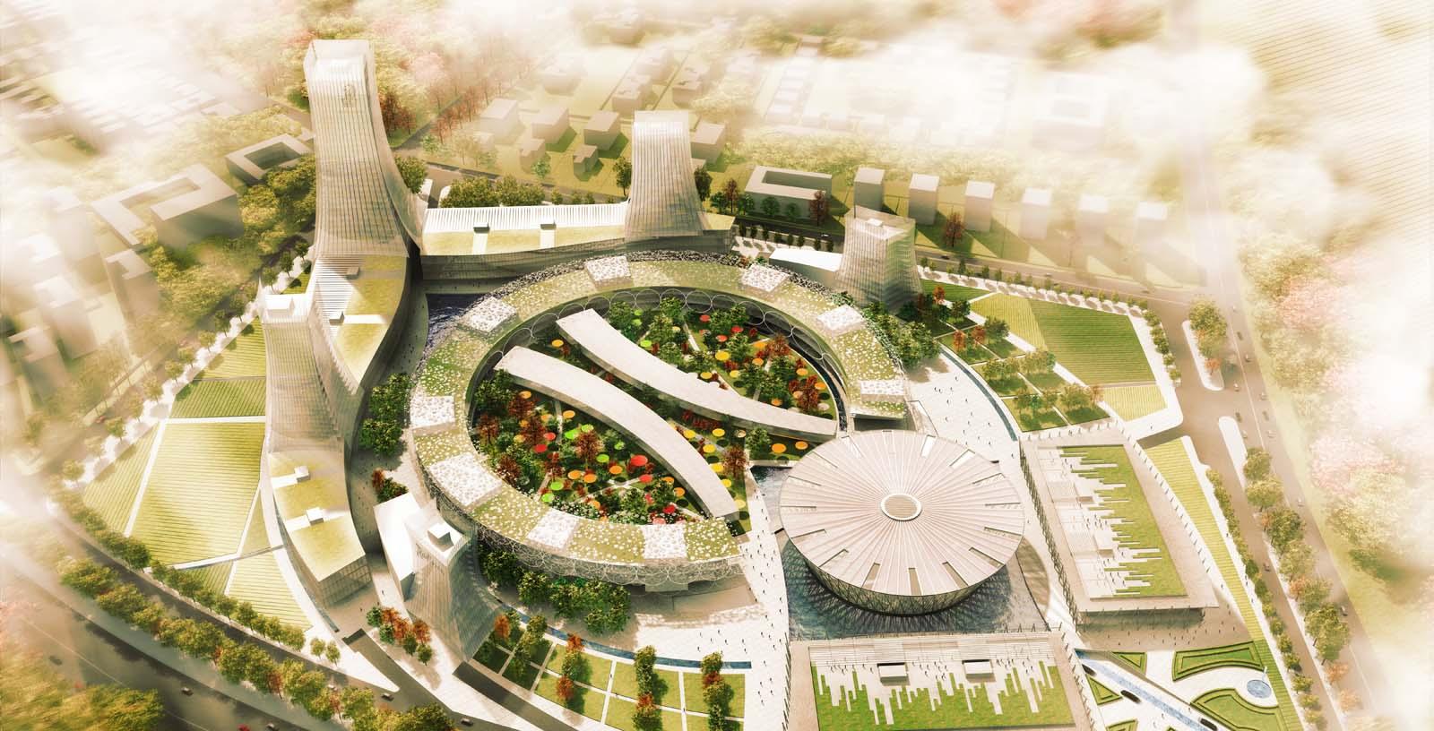Mohali_Convention_Centre_01_Architecture_Idom_computer_graphic_GLT