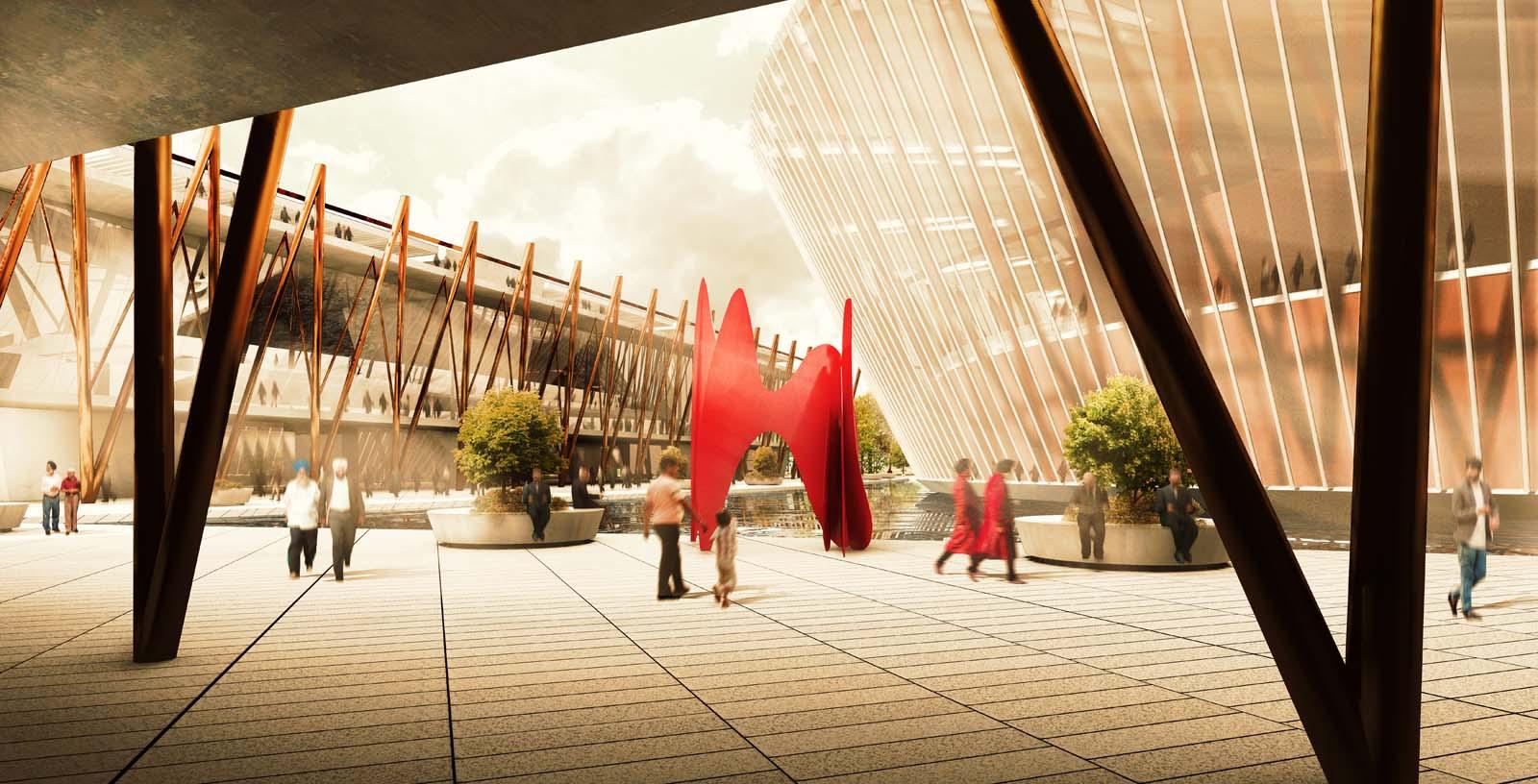 Mohali_Convention_Centre_03_Architecture_Idom_computer_graphic_GLT