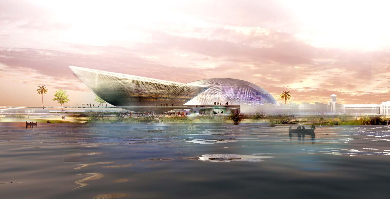 Sports_Complex_Algiers_01_Architecture_IDOM_computer_graphics_Manuel_Leira