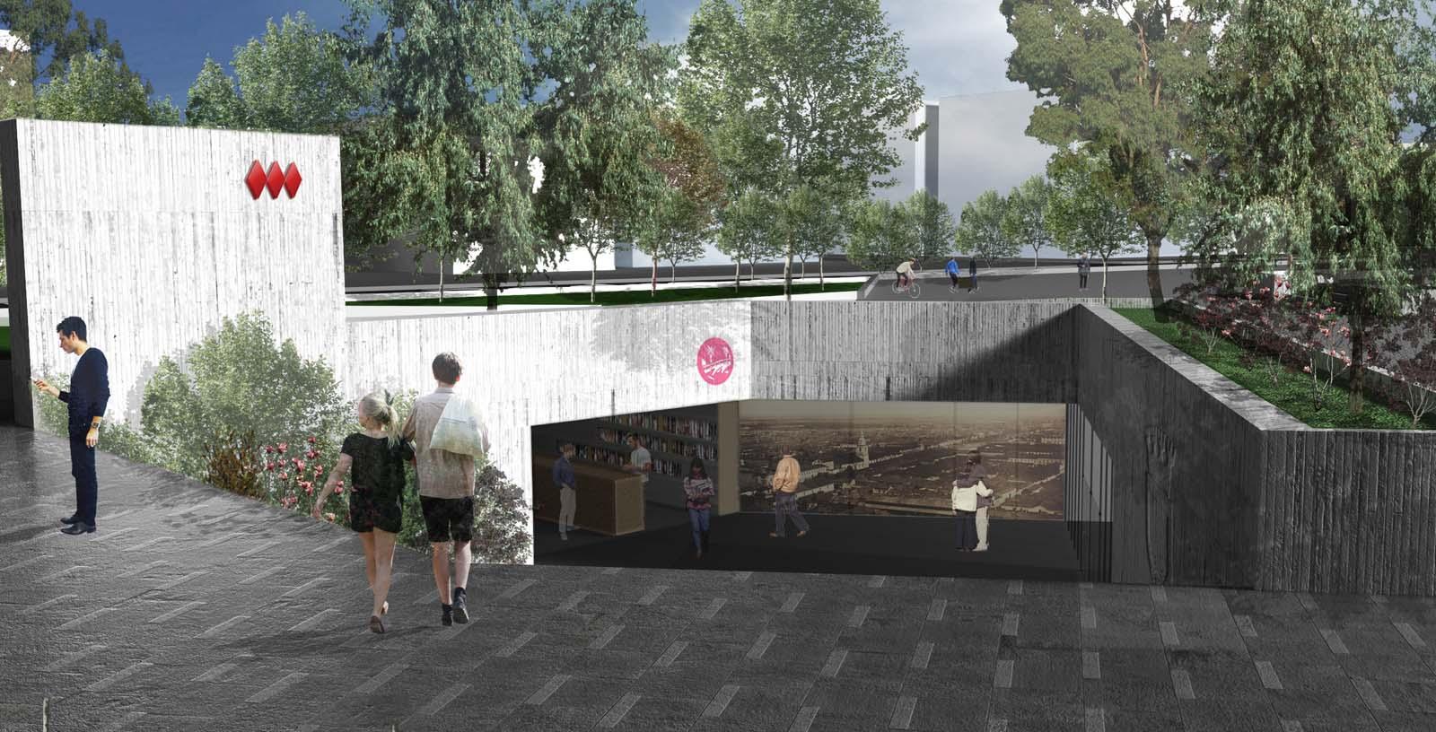 Stations._Santiago_de_Chile_Underground_02_Architecture_IDOM_Computer_graphics_Jesus_Mejiaa