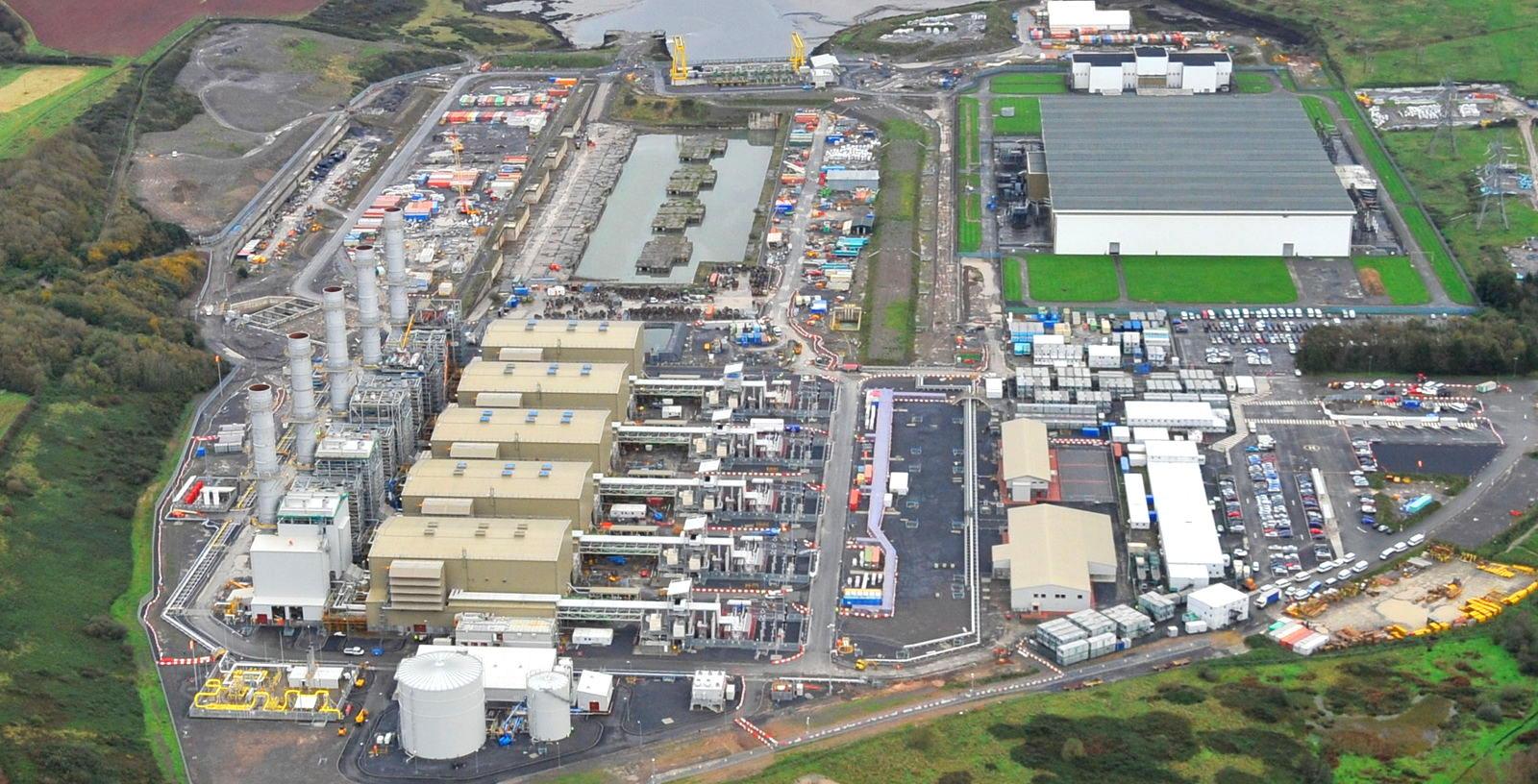 Alstom. Pembroke Power Station. 27.10.11