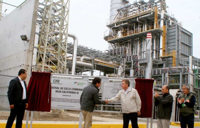 Inauguration of the Baja California III Combined Cycle Power Plant, Mexico