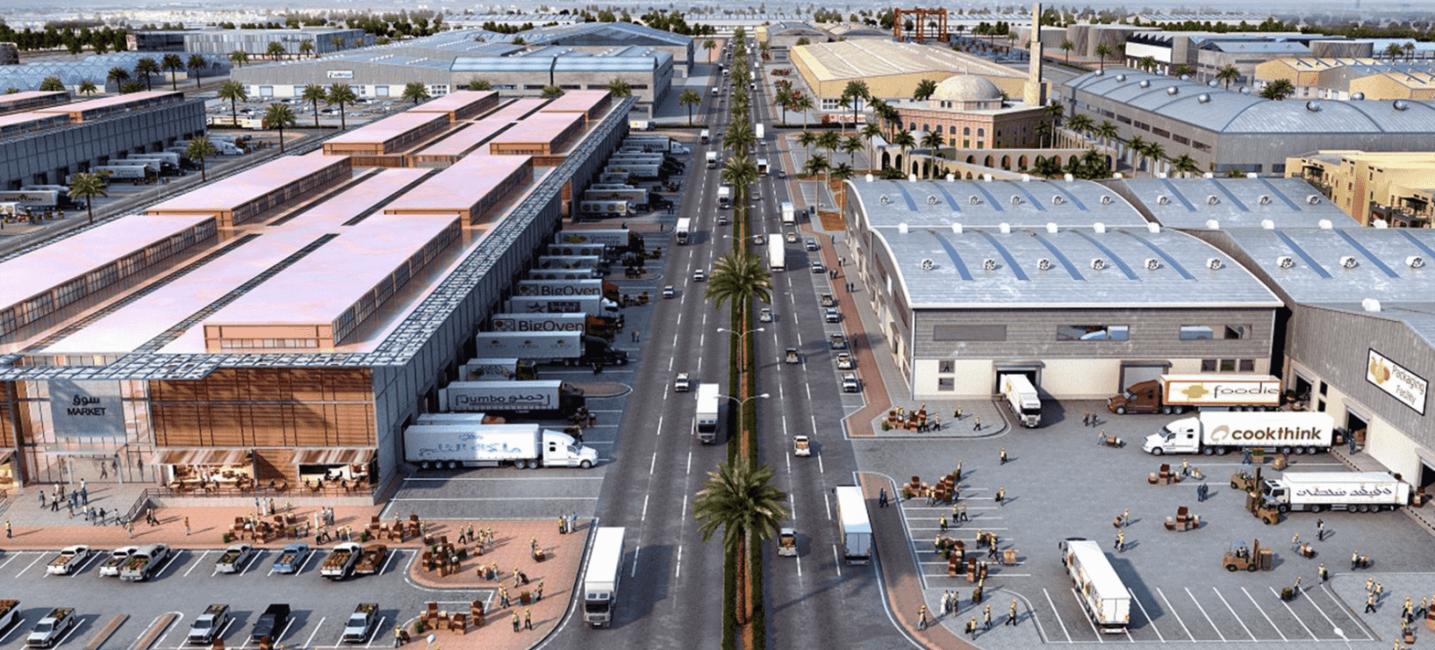 Dubai Wholesale City_Food Market_TECOM Group