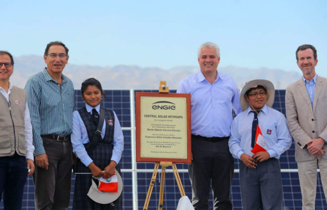 Intipampa 40MW Solar plant – Official inauguration