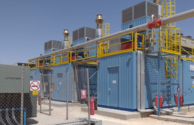 Using the biogas of the Al-Ghabawi landfill for energy. Commissioning the plant
