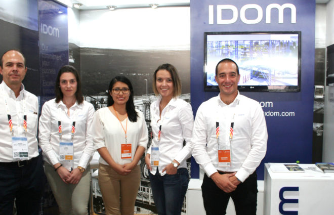 Present at the PERUMIN 34 Mining Convention