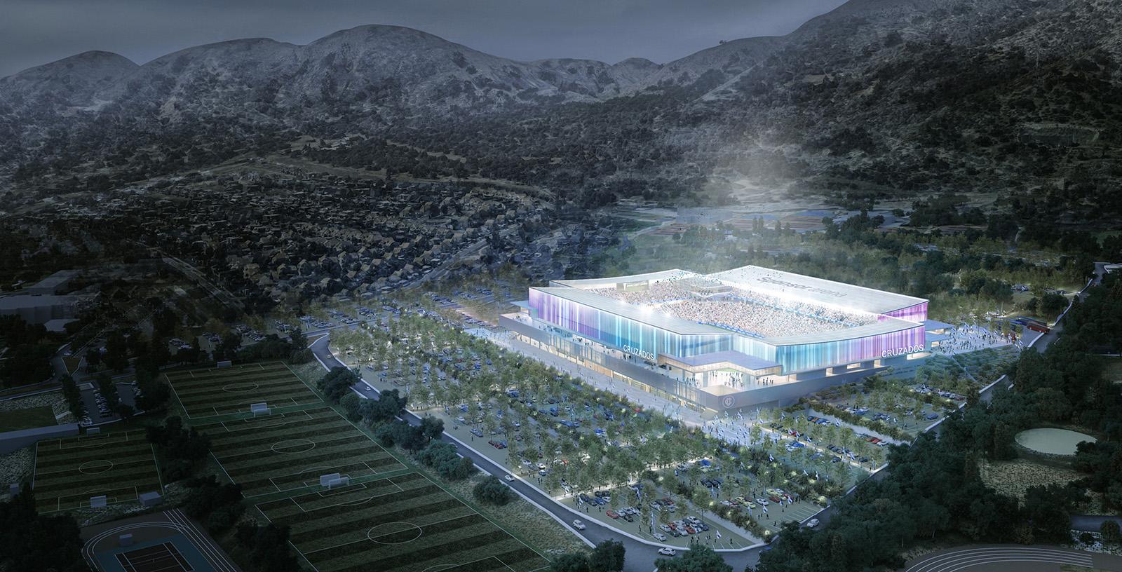 Cruzados_Stadium_aerial_night_view-IDOM_1