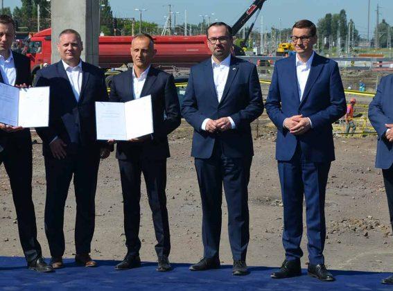 Firma del acuerdo de la Línea de Alta Velocidad Varsovia-Lódź