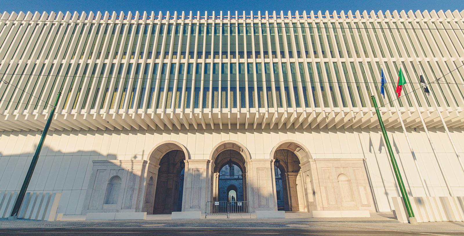 Inauguración del nuevo Ala Oeste del Palacio de Ajuda en Lisboa