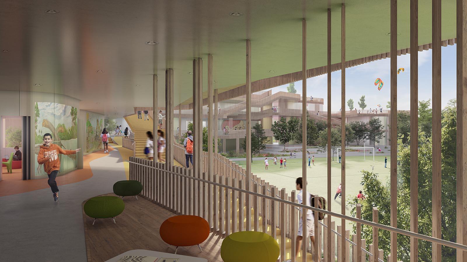 Rio Hablador interior view_Markham College_IDOM_Rosan Bosch
